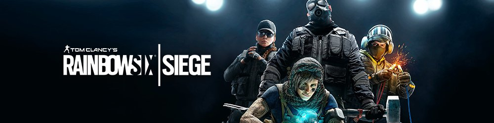 Tom Clancys Rainbow Six Siege banner