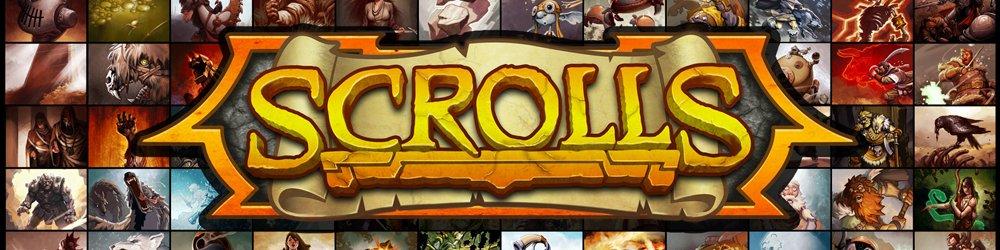 Scrolls banner