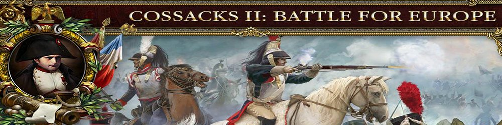 Cossacks 2 Battle for Europe banner
