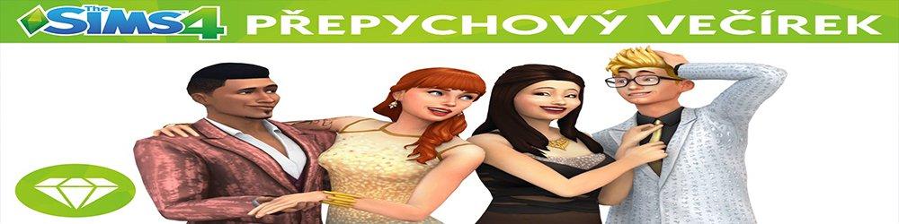 The Sims 4 Přepychový Večírek banner