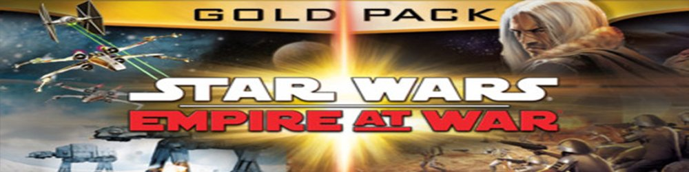 STAR WARS Empire at War Gold Pack banner
