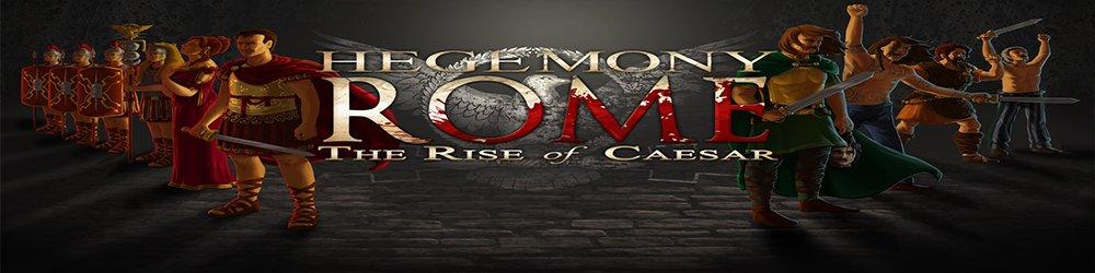 Hegemony Rome Rise of Caesar banner