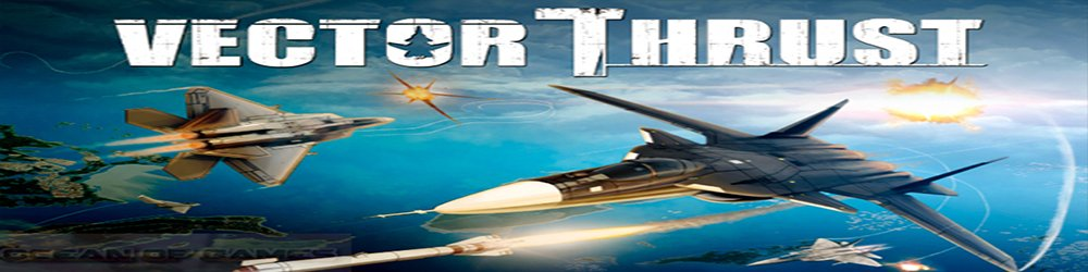 Vector thrust banner