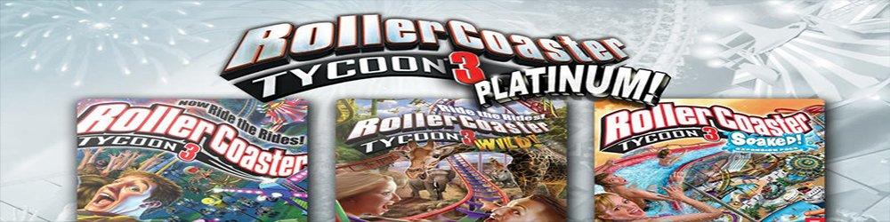 RollerCoaster Tycoon 3 Platinum banner