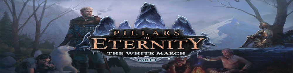Pillars of Eternity  The White March Part 1 banner