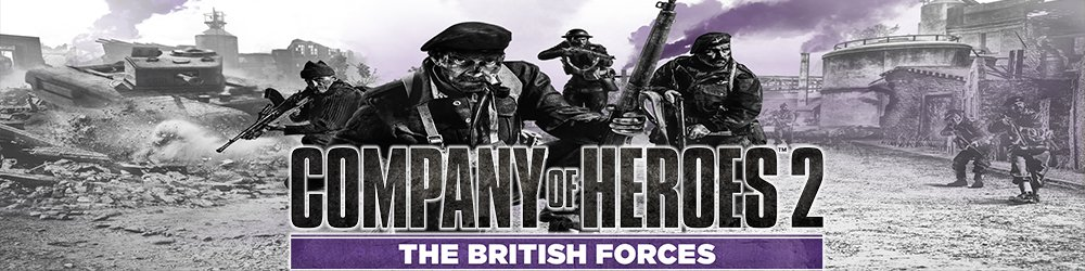 Company of Heroes 2 The British Forces banner