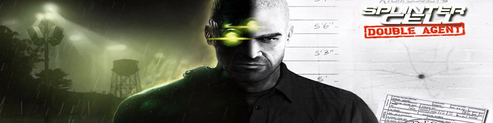 Tom Clancys Splinter Cell Double Agent banner