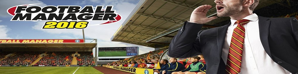 Football Manager 2016 banner