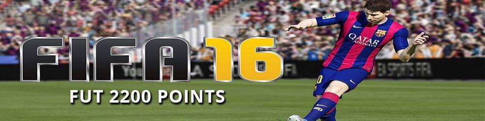 FIFA 16 2200 FUT Points banner