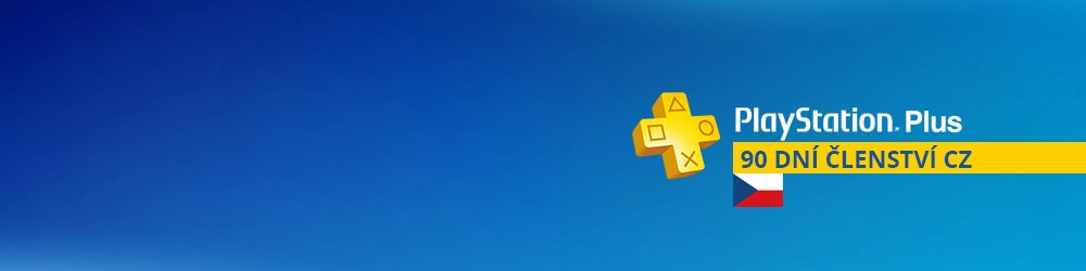 PlayStation Plus 90 dní banner