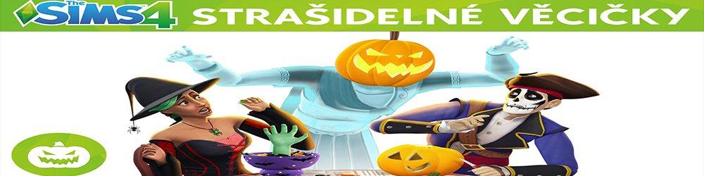 The Sims 4 Strašidelné věcičky banner