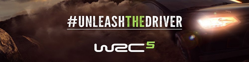 WRC 5 FIA World Rally Championship banner