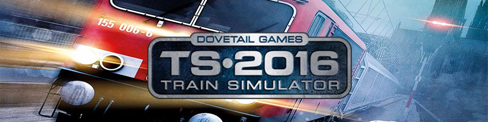 Train Simulator 2016 banner