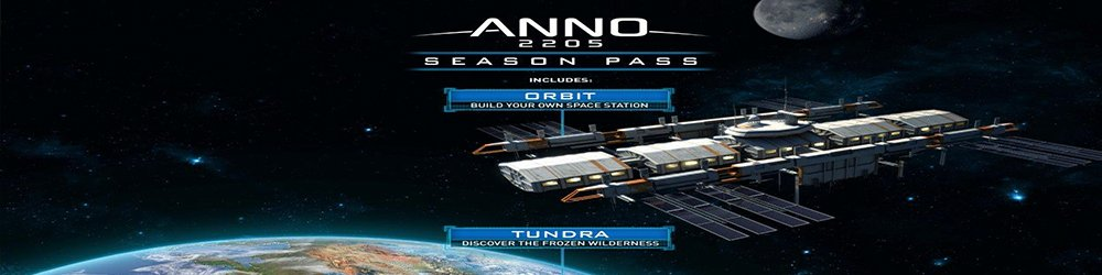 Anno 2205 Season pass banner