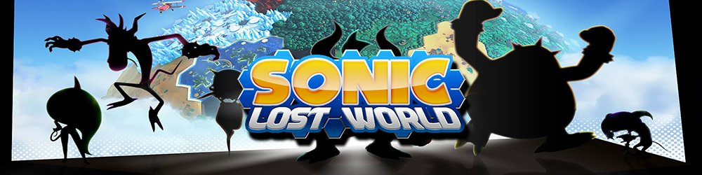 Sonic Lost World banner