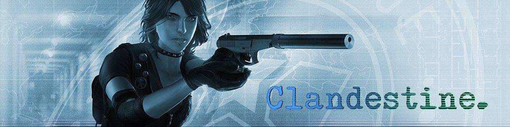Clandestine banner