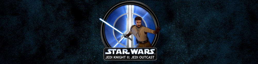 STAR WARS Jedi Knight 2 Jedi Outcast banner