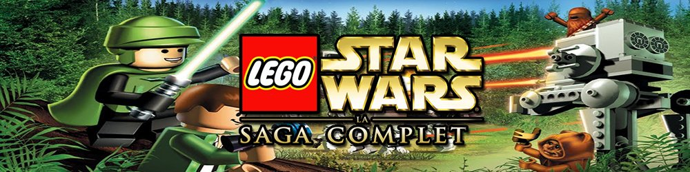 LEGO Star Wars The Complete Saga banner