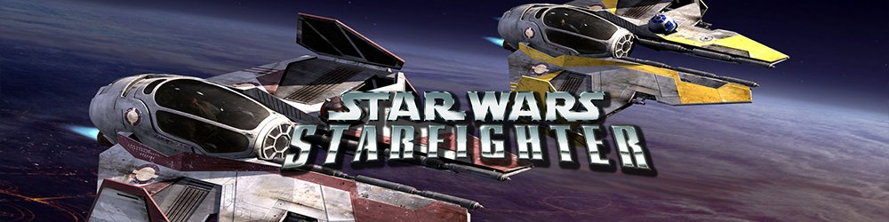 STAR WARS Starfighter banner