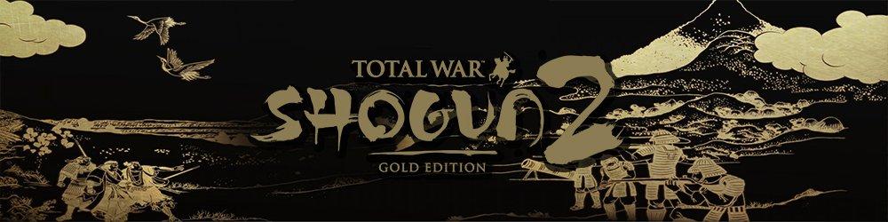 Total War Shogun 2 Gold edition banner
