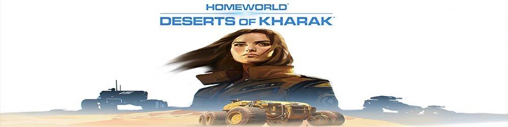 Homeworld Deserts of Kharak banner
