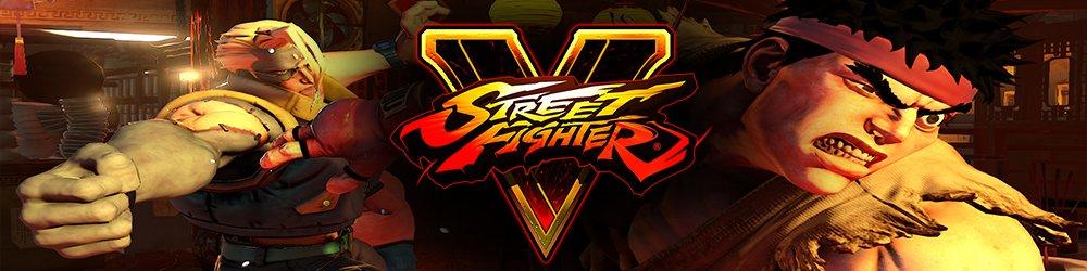 Street Fighter V banner