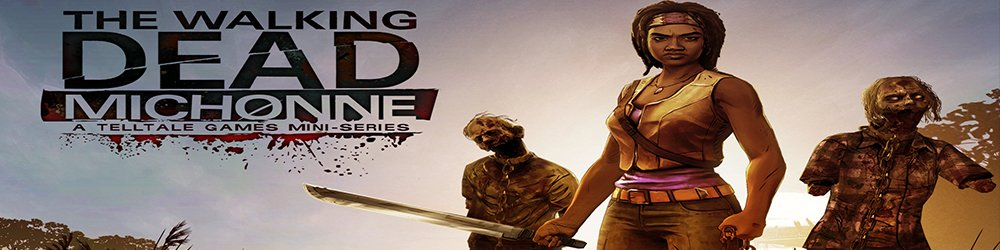 The Walking Dead Michonne banner