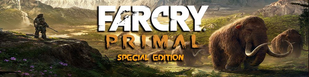 Far Cry Primal Special edition banner