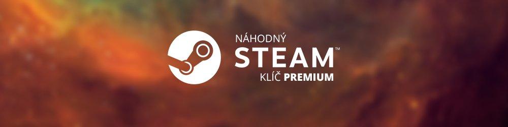 Náhodný Steam klíč PREMIUM banner