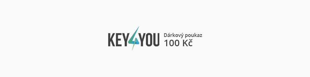 Dárkový poukaz v hodnotě 100,- CZK banner