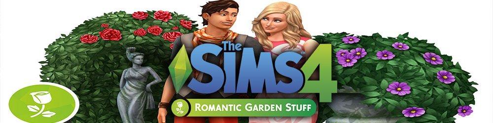The Sims 4 Romantická zahrada banner