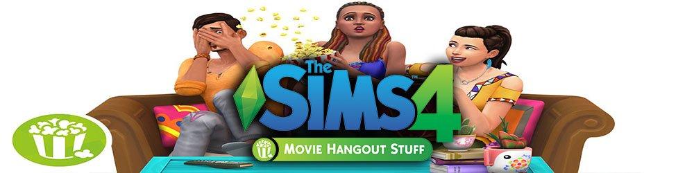 The Sims 4 Domácí kino banner