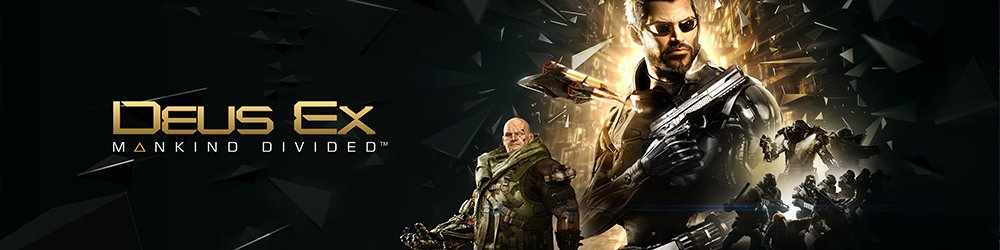 Deus Ex Mankind Divided banner
