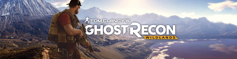 Tom Clancys Ghost Recon Wildlands banner