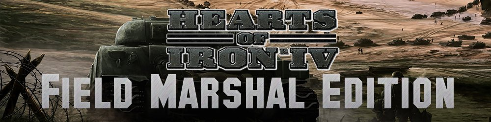 Hearts of Iron IV Field Marshal Edition banner