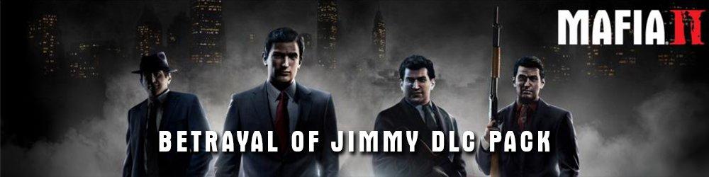 Mafia 2 DLC Pack Betrayal of Jimmy banner