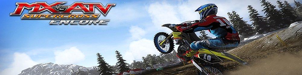 MX vs. ATV Supercross Encore banner