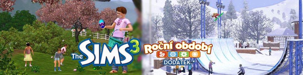 The Sims 3 Roční Období banner