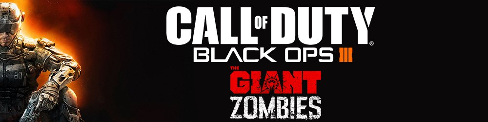 Call of Duty Black Ops III The Giant Zombies Map banner