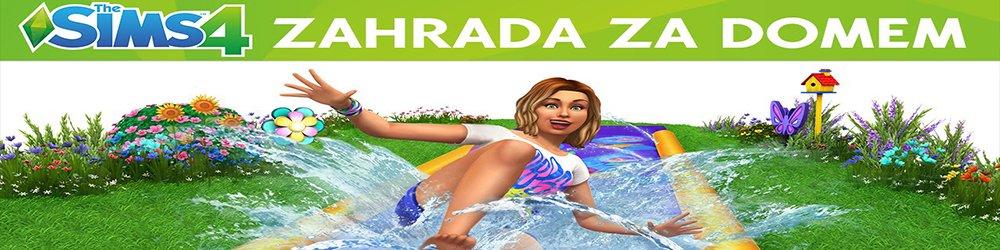 The Sims 4 Zahrada za domem banner