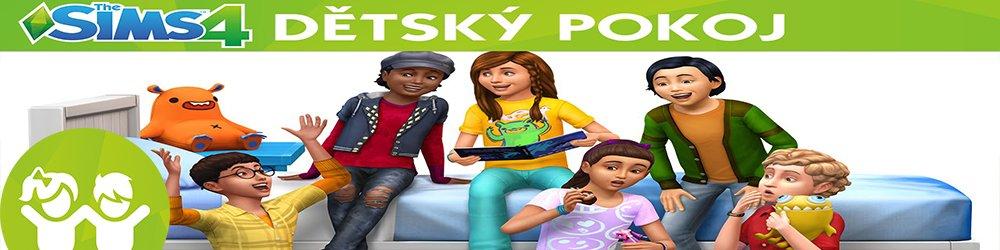 The Sims 4 Dětský pokoj banner