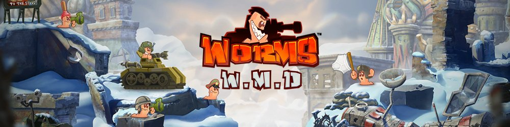 Worms W.M.D banner
