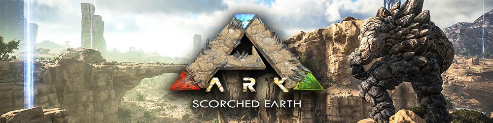 ARK Scorched Earth DLC banner