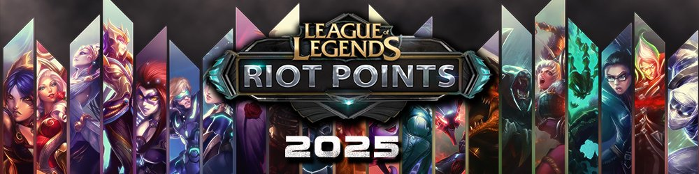 LOL Riot Points 2025 EU banner