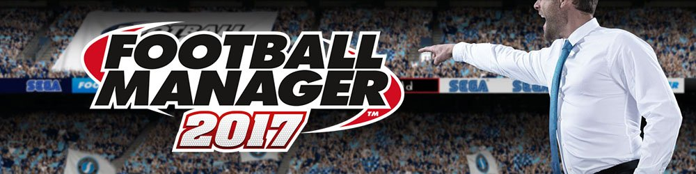 Football Manager 2017 banner
