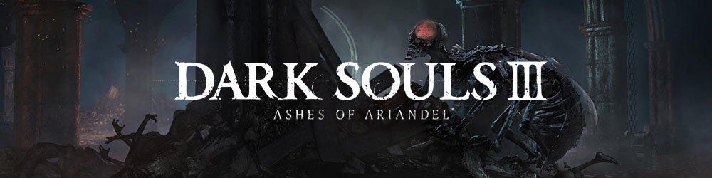 Dark Souls 3 Ashes of Ariandel DLC banner