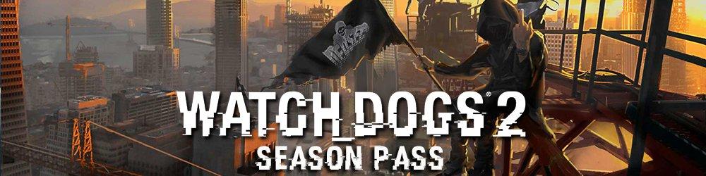 Watch Dogs 2 Season pass banner