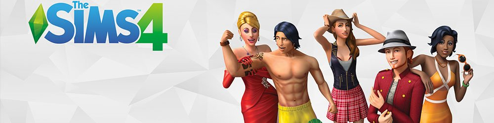 The Sims 4 ENG banner