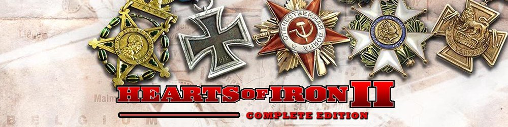 Hearts of Iron 2 Complete banner