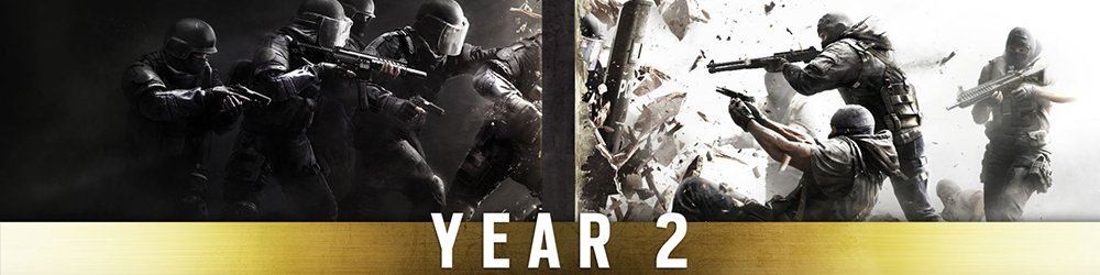 Tom Clancys Rainbow Six Siege Season Pass Year 2 banner
